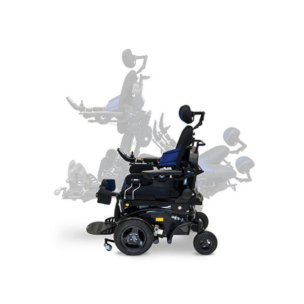 רק החוצה כסא גלגלים ממונע NEMO 1.595 – Feet & More PW-57